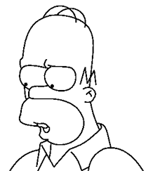 coloring pages simpsons animated images gifs pictures