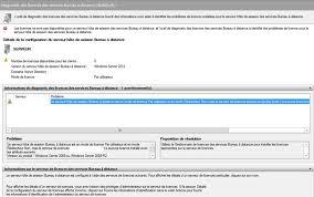 service bureau distance bureau à distance windows server 2012 foundation