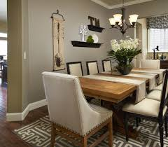 cool dining room table decor with living and dining room