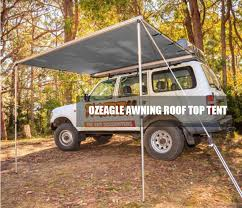 4x4 Awning Tents Ozeagle Car Side Awning 2 5m X 3m