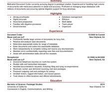 medical coding resume samples fred resumes
