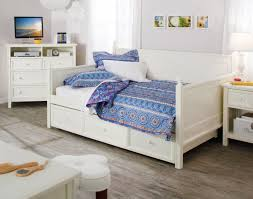 White Daybed With Trundle Daybed Cozy Kahrs Flooring With White Daybeds With Trundles And