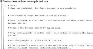 finite element simulations using symbolic computing sciencedirect