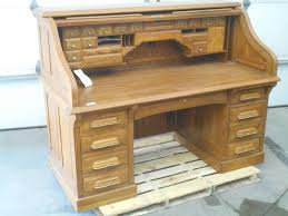 national mt airy oak roll top desk loretto equipment 304