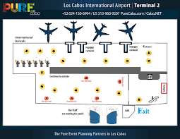 Miami International Airport Terminal Map by Los Cabos Airport Map San Jose Airport Sjd Terminal Maps