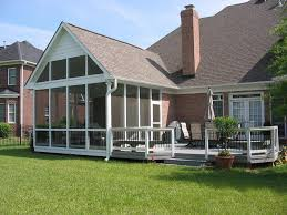 pictures of covered back porches enjoying summer with the