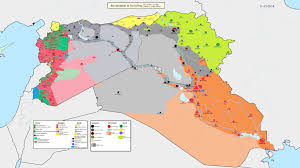 Syria Fighting Map by War U2013 Sean Culleton