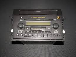 01 02 03 acura cl oem type s oem bose radio cd cassette player