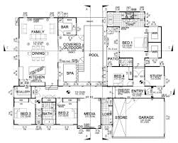 House Lans First Second Floor Plan Floorplan House Stock Vector 74222878 New