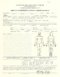 autopsy report template autopsy report template