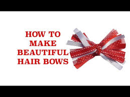 how to make baby hair bows how to make bows how to make baby hair bows how to make a hair