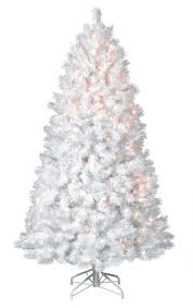 small white christmas tree with lights small white christmas trees flocked tree with blue lights decorated