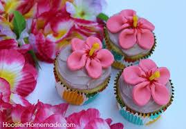 Luau Cake Decorations Luau Cupcakes Hoosier Homemade