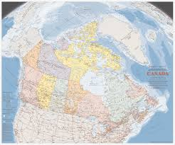 Trans Canada Highway Map by Large Detailed Map Of Canada With Cities And Towns