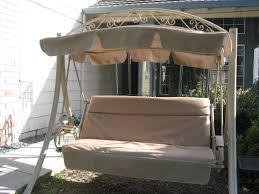 Garden Treasures Replacement Hammock by Patio Furniture Shop Garden Treasures Porch Swing At Lowes Com