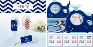 nautical baby shower favors ahoy nautical baby shower party supplies party city