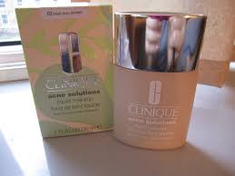 clinique acne solution foundation and bonus time gifts handmade