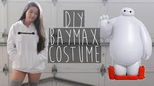 easy last minute halloween costume baymax big hero 6 eva
