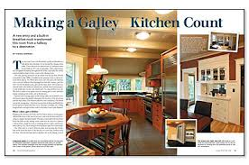 How To Design A Galley Kitchen by Making A Galley Kitchen Count Fine Homebuilding
