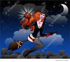 halloween animated witch halloween witch stock illustration i1949076 at featurepics