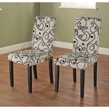 sure fit stretch pinstripe short dining room chair cover french