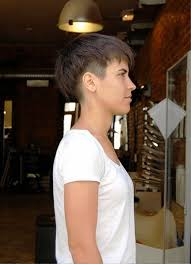 pictures of side view of trendy short haircuts for women