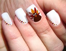 creative thanksgiving nail design ideas nail polka dots