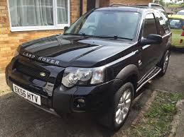 land rover freelander 2006 land rover freelander td4 sport 3 door auto black 2006 56