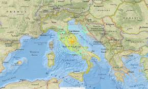 Italy Earthquake Map Update Italy Earthquake Kills At Least 159 Reduces Towns To
