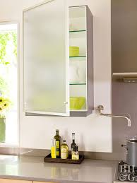 where to buy glass shelves for kitchen cabinets low cost cabinet makeovers better homes gardens