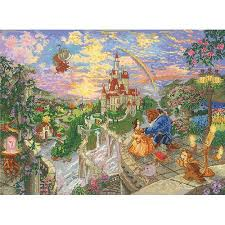 disney dreams collection by kinkade beast 16 x