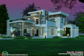 sq ft nice contemporary house kerala home design floor sq feet