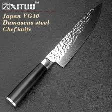 vg10 kitchen knives aliexpress buy xituo quality 8 inch kitchen knife damascus