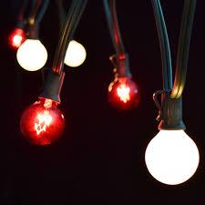 Red And White Christmas Lights Christmas Globe Lights Christmas Lights Decoration