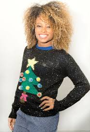 christmas tree jumper with lights x factor finalists get their xmas jumpers on for charity mirror online