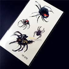Spider Makeup For Halloween by High Quality 3d Spider Tattoos Promotion Shop For High Quality