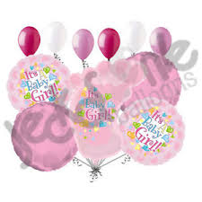 welcome home balloon bouquet 11 pc its a girl foot balloon bouquet decoration baby welcome home