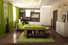 Curtains On The Wall White Wall Room Combined With Lime Green Curtains For Glass
