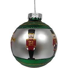 fao schwarz glass ornament soldier health