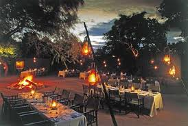 hanging heat ls for restaurants sabi sabi news update dining at sabi sabi