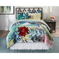 Bedroom Set Kmart Colormate Complete Bedding Set Tropical Hummingbird Multi