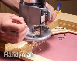 How To Make Solid Wood Cabinet Doors Convert Wood Cabinet Doors To Glass Family Handyman