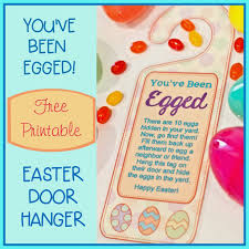 you u0027ve been egged u201d door hanger