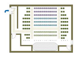 venue layout maker theater seat plan free theater seat plan templates