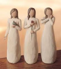 willow tree figurines the three blessings peace