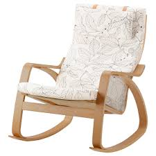 chaise bascule ikea poäng fauteuil à bascule vislanda noir blanc ikea