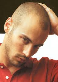 tips for hairstyle for broad headed men burr haircut for balding man style pro pinterest bald man