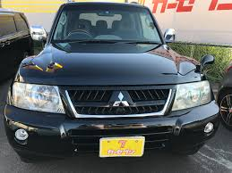 mitsubishi cars 2004 mitsubishi pajero 2004 for sale japanese used cars car tana com