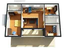 Floor Plans For Small Houses With 3 Bedrooms 4 Bedroom House Plans 2 Story 3d Modern Style House Plan 3 Beds