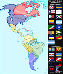 Map Americas by Map Of The Merca U0027s Mobius America U0027s By Kwarduk On Deviantart